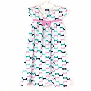 Gymboree Bow Print Lined Dress